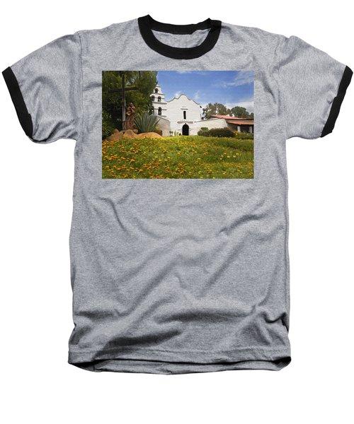 Mission San Diego De Alcala Baseball T-Shirt