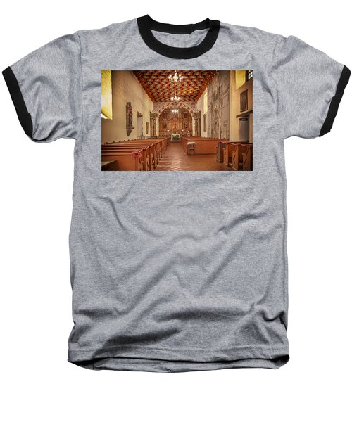 Mission San Francisco De Asis Interior Baseball T-Shirt