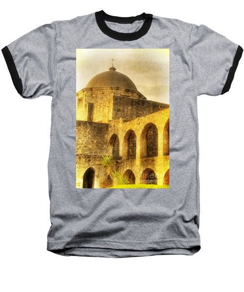 Mission San Jose San Antonio Texas Baseball T-Shirt