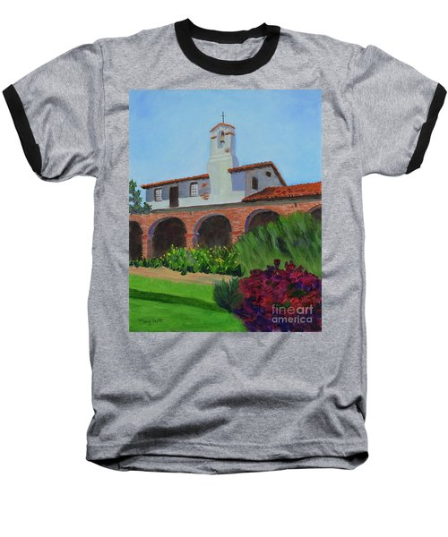 Mission San Juan Capistrano Baseball T-Shirt