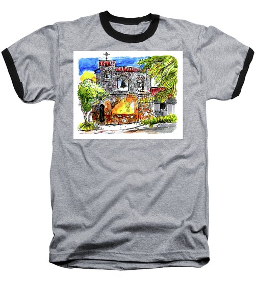 Mission San Miguel Baseball T-Shirt