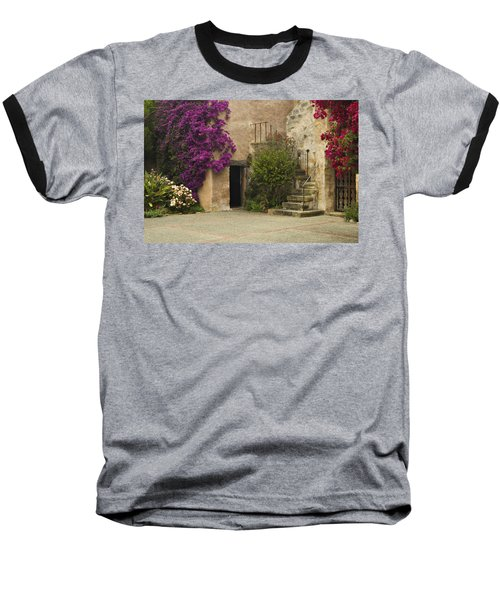 Mission Stairs Baseball T-Shirt