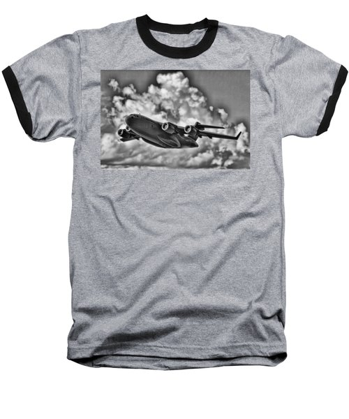 Mission-strategic Airlift Baseball T-Shirt by Douglas Barnard