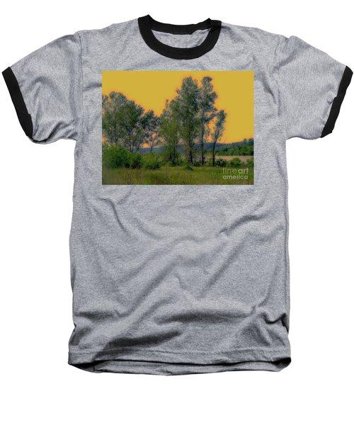 Mississippi Estuary Baseball T-Shirt