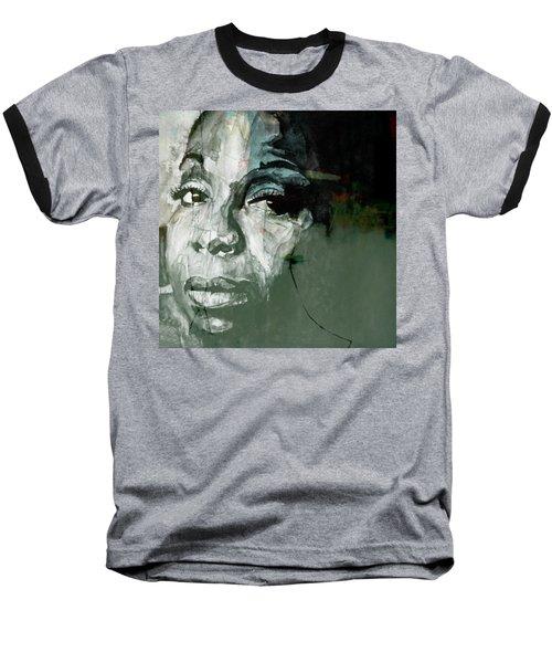 Mississippi Goddam Baseball T-Shirt by Paul Lovering