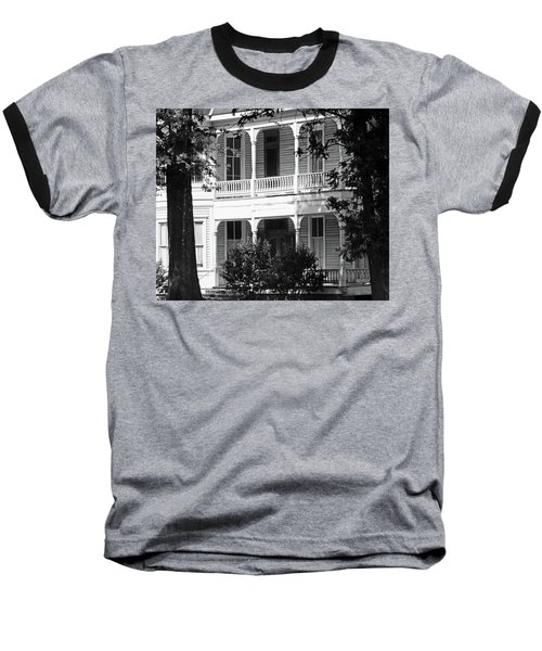 Mississippi Haunted House Baseball T-Shirt