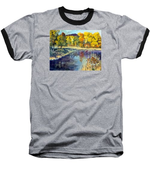 Mississippi Mix Baseball T-Shirt by Jim Phillips