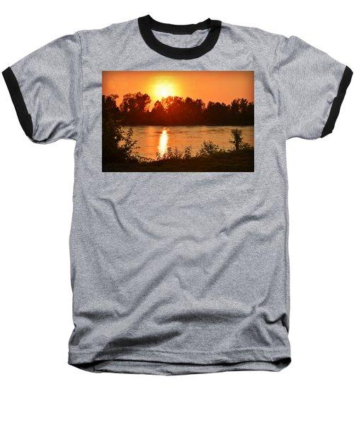 Missouri River In St. Joseph Baseball T-Shirt