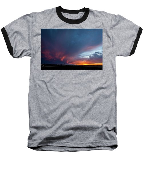 Missouri Sunset Baseball T-Shirt
