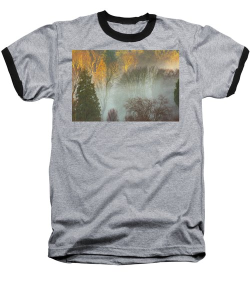 Mist In The Park Baseball T-Shirt
