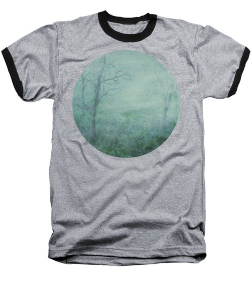 Mist On The Meadow Baseball T-Shirt