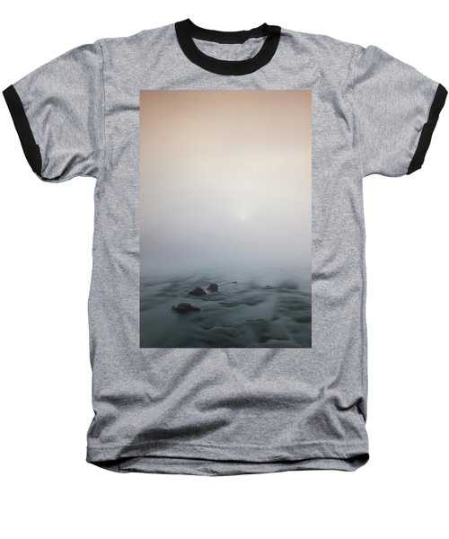 Mist Over The Third Tone From The Sun Baseball T-Shirt