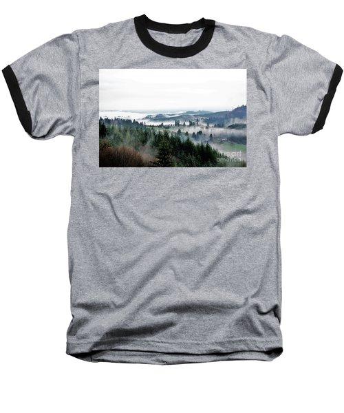 Mist Rising Baseball T-Shirt