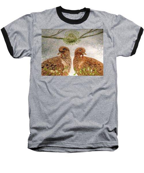 Mistletoe Magic Baseball T-Shirt