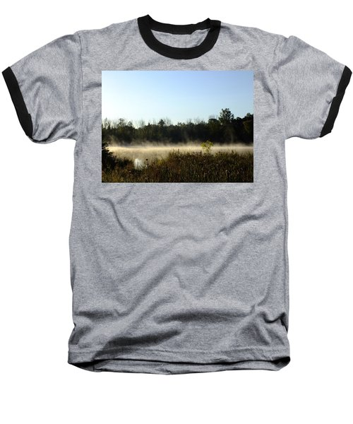 Mists On The Welland Baseball T-Shirt