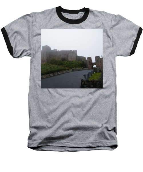 Misty Bamburgh Castle Baseball T-Shirt