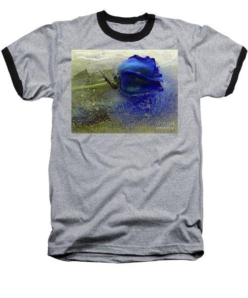 Misty Blue Baseball T-Shirt