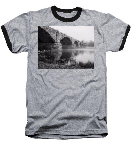 Misty Bridge Baseball T-Shirt