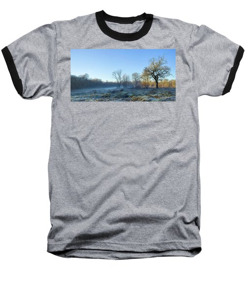 Misty Clearing Baseball T-Shirt