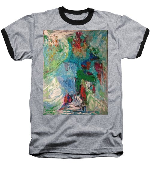 Misty Depths Baseball T-Shirt