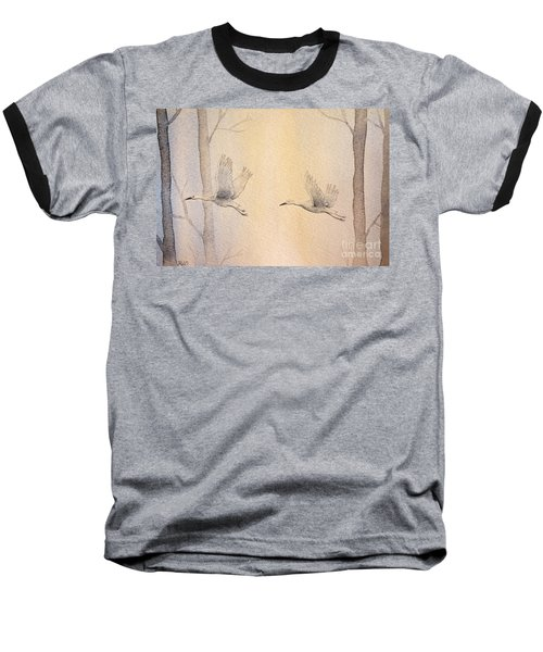 Misty Flight Baseball T-Shirt