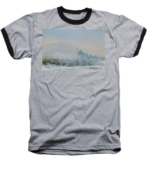 A Misty Morning Baseball T-Shirt