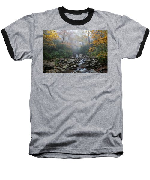 Misty Morning Magic Baseball T-Shirt