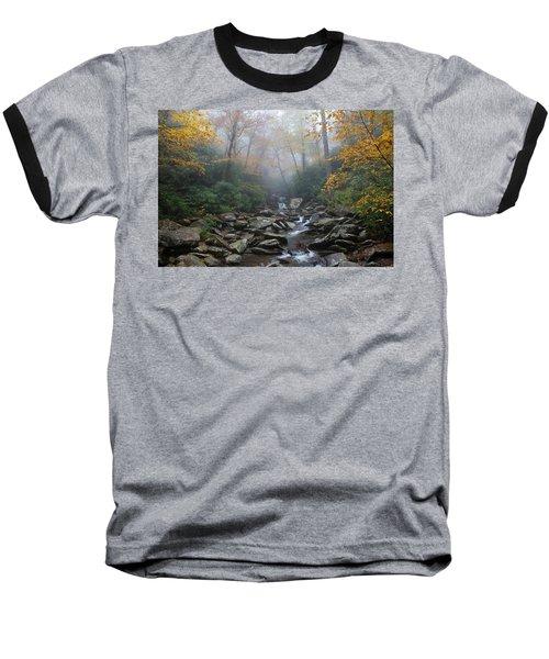 Misty Morning Magic Baseball T-Shirt