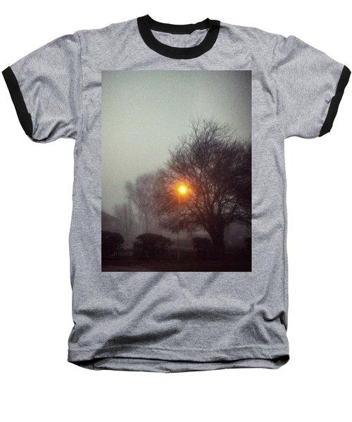 Misty Morning Baseball T-Shirt