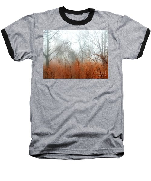 Baseball T-Shirt featuring the photograph Misty Morning by Raymond Earley