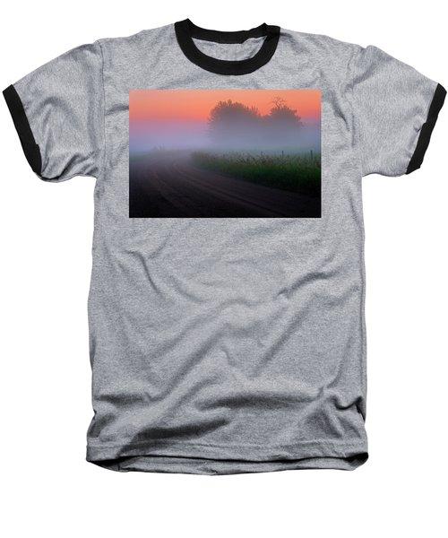 Misty Mornings Baseball T-Shirt
