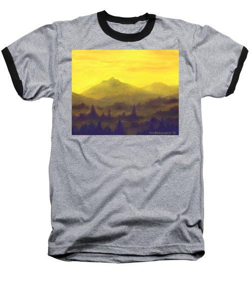 Misty Mountain Gold 01 Baseball T-Shirt