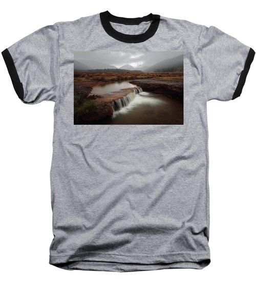 Misty Mountain Majesty  Baseball T-Shirt
