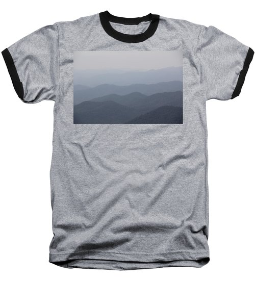 Misty Mountains Baseball T-Shirt