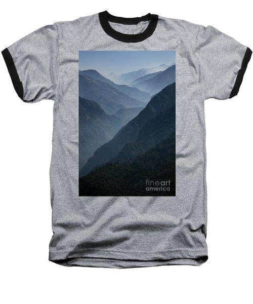 Misty Peaks Baseball T-Shirt