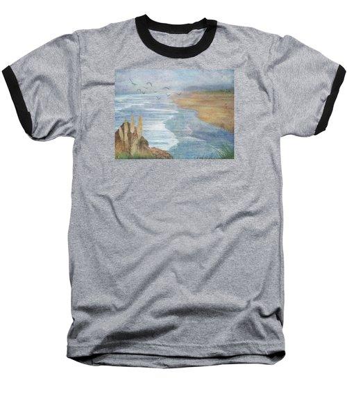 Misty Retreat Baseball T-Shirt