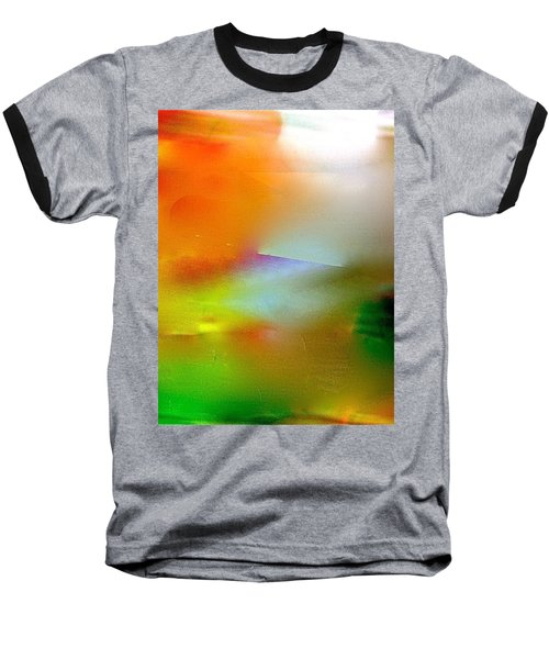 Baseball T-Shirt featuring the digital art Misty Waters by Patricia Schneider Mitchell