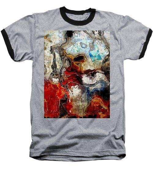 Mixed Emotions Baseball T-Shirt by The Art Of JudiLynn