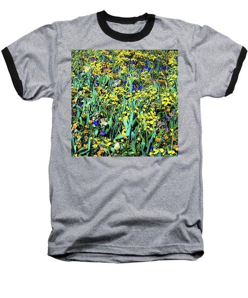 Mixed Flower Garden 515 Baseball T-Shirt