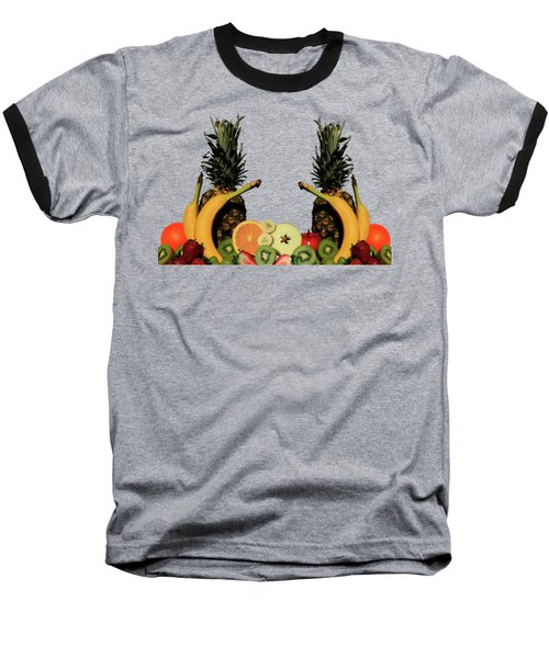 Mixed Fruits Baseball T-Shirt