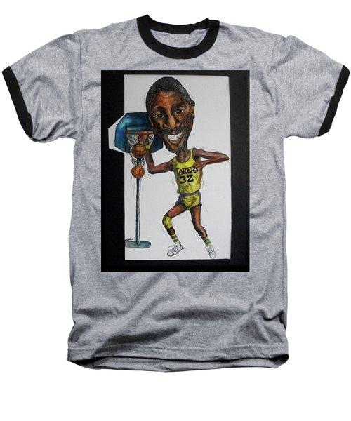 Mj Caricature Baseball T-Shirt