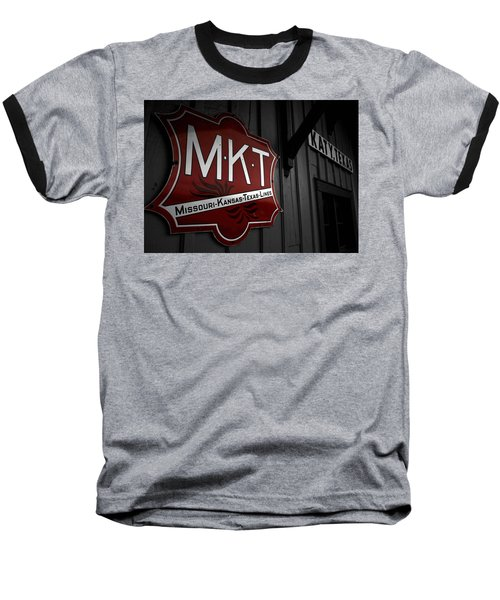 Mkt Railroad Lines Baseball T-Shirt