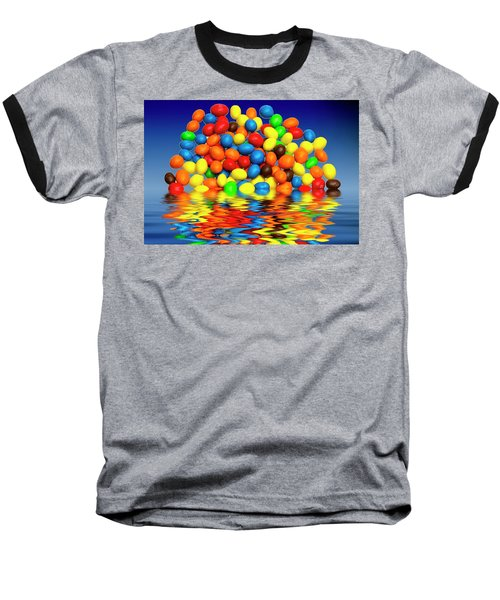Baseball T-Shirt featuring the photograph Mm Chocolate Sweets by David French