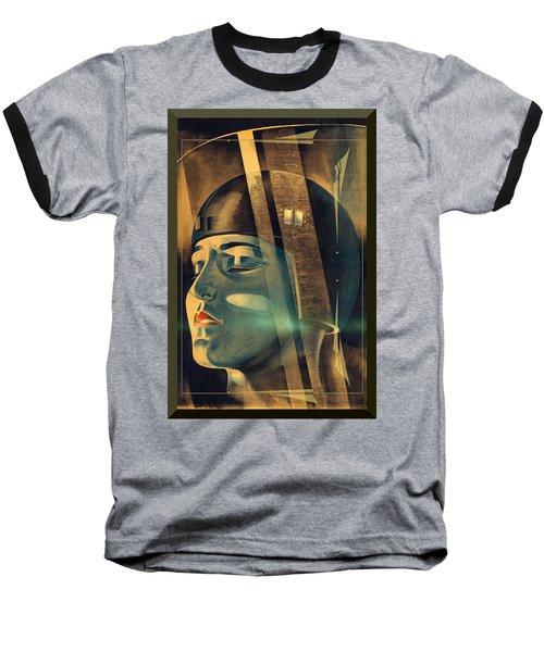 Metropolis Maria Transformation Baseball T-Shirt