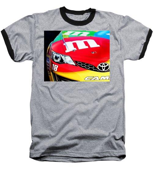 Mm's Nascar Baseball T-Shirt by Natalie Ortiz