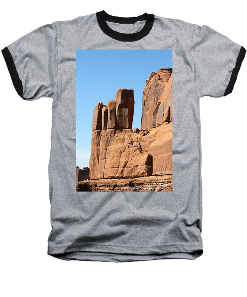 Moab Rocks Baseball T-Shirt