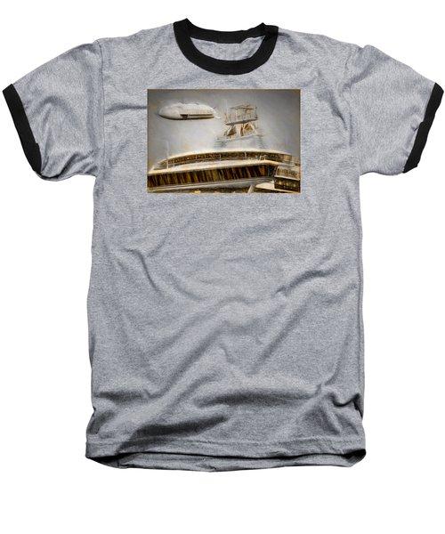 Moby Air Baseball T-Shirt