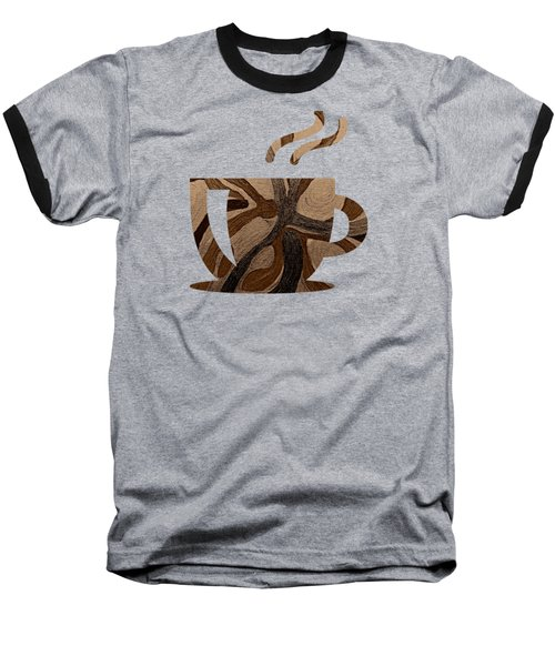 Mocha Java Swirl Baseball T-Shirt