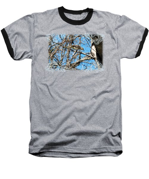 Mockingbird Baseball T-Shirt by Katherine Nutt