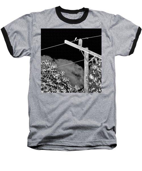 Mockingbird On A Wire Baseball T-Shirt